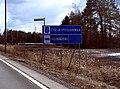 Southern Ostrobothnia & Seinäjoki border sign.JPG