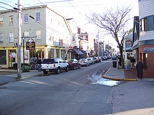 Southern Thames Historic District - Thames Street in 2008