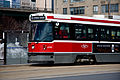 Spadina Streetcar at Queen's Quay and Reese Street, Toronto.jpg