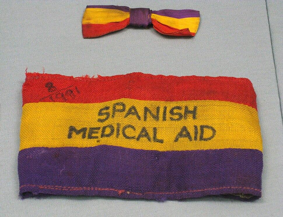 Spanish Medical Aid Armband