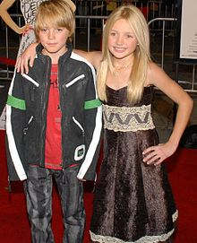 Spencer List, Peyton R. List at 27 Dresses Premiere 1.jpg
