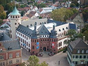 Das Historische Museum der Pfalz vom Domturm aus (wikipedia)