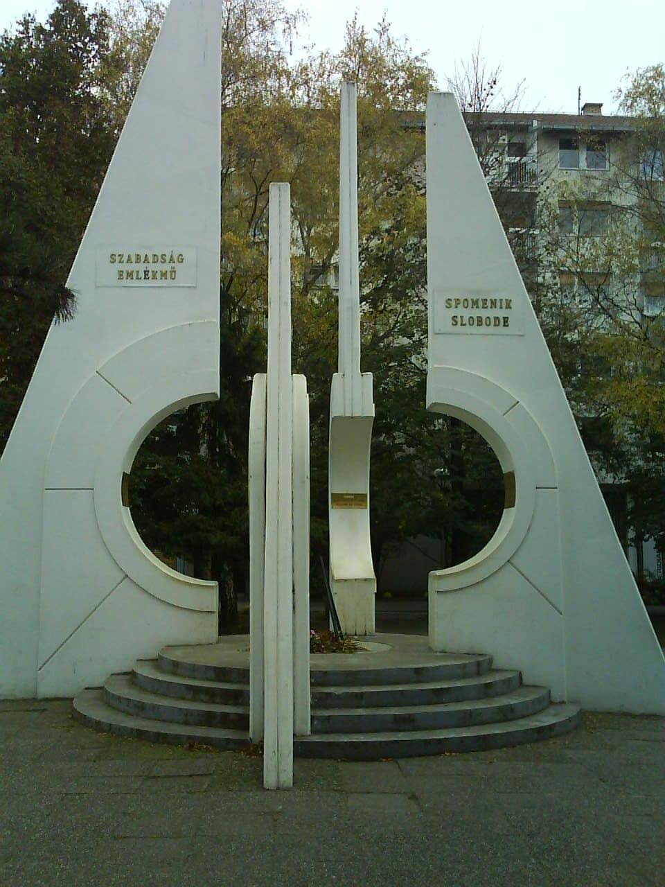 SpomenikSlobodeTemerin