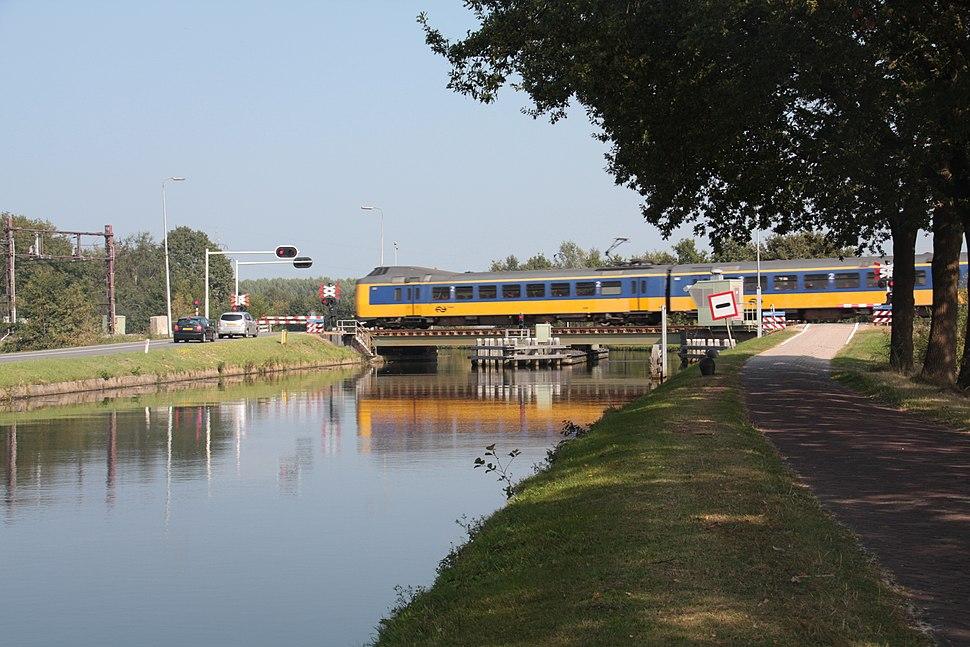 Spoorbrug Meppel - Buitenvaart, Jaagpad - 04