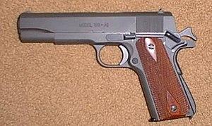 Pistol - A model M1911A1 pistol