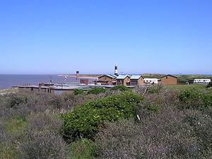 Spurn - Settlement on Spurn Head in 2009