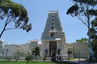 Hinduism in Australia - Image: Sri Venkateswara Temple Helensburgh