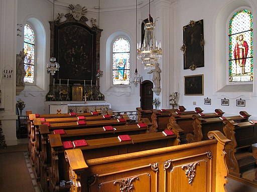 St-Anna-Kapelle Dornbach, Innenraum