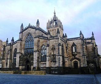 Parliament of Scotland - St Giles' Kirk, common meeting place of Parliament from 1563 to 1639.