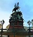 St. Petersburg - Monument Tsar Nicholas l. - Памятник царю Николаю I. - panoramio (1).jpg