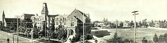 Loyola High School (Los Angeles) - St. Vincent's College, circa 1908