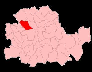 St Marylebone (UK Parliament constituency) - St Marylebone in London 1950-74