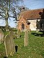 St Andrew's church - churchyard - geograph.org.uk - 1764822.jpg