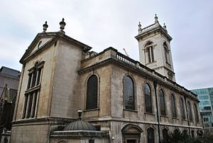 St Andrew Holborn (church) - Image: St Andrew Holborn (church) 20130413 029