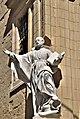 St Francis Borgia corner statue.jpg