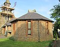 St John the Evangelist's Church, Church Road, Milford (June 2015) (Church Hall).JPG