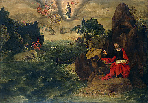 St John the Evangelist at Patmos (Tobias Verhaecht)