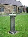 St Mary's Church, Ruabon, Sundial - geograph.org.uk - 589688.jpg
