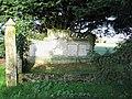 St Mary's church - ornate tomb in churchyard - geograph.org.uk - 1606652.jpg