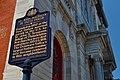 St Mary Magdalen De Pazzi Parish Historical Marker 714 Montrose St Philadelphia PA (DSC 2793).jpg