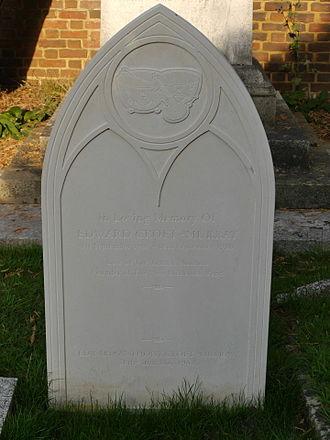 Edward Croft-Murray - Funerary monument, St Peter's Church, Petersham