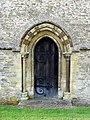St Peter, Bucknell, Oxon - Doorway - geograph.org.uk - 1634563.jpg