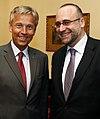Staatssekretär Lopatka trifft slowakischen Amtskollegen Javorcik (8738461856).jpg