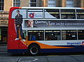 Stagecoach in Newcastle route 1 branding in Newcastle 3 April 2009 pic 1.JPG