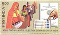 Stamp of India - 2010 - Colnect 259550 - Election Commission of India.jpeg