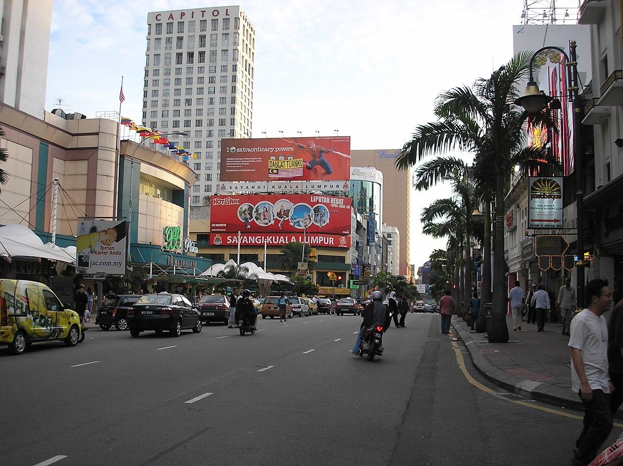 Roads in Kuala Lumpur images