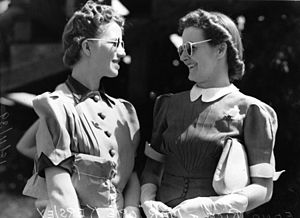 StateLibQld 1 128878 Edna Rice and Marjorie Kersley, Brisbane, 1939.jpg