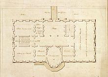 White House State Floor Plan 1803