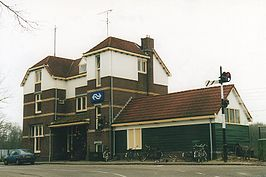 Station Dalfsen in 2001