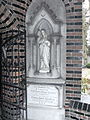 Statue at entrance to chapel 2.JPG
