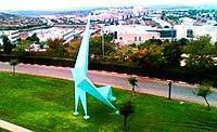 Statue in Ariel university center crop.jpg