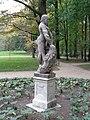 Statue of Herakles in Łazienki Park, Warsaw, Poland 9.jpg
