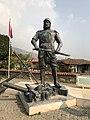 Statue of Umur Bey in Birgi.jpg