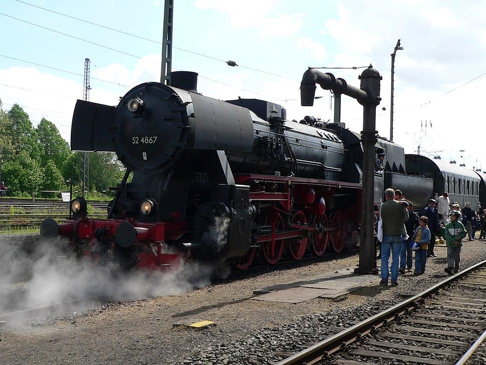 Steam locomotive RN 52 4867
