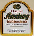 Sternburg Jubiläumsbock Etikett.jpg