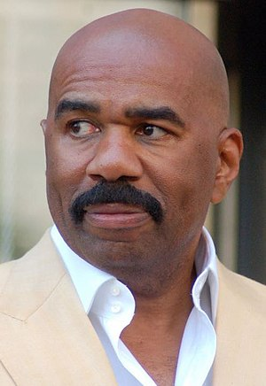 Steve Harvey - Harvey at a ceremony receiving a star on the Hollywood Walk of Fame, May 13, 2013