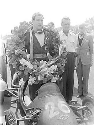 Kieft Cars - Stirling Moss won the Formula 3 support race at the 1951 Dutch Grand Prix driving a Kieft