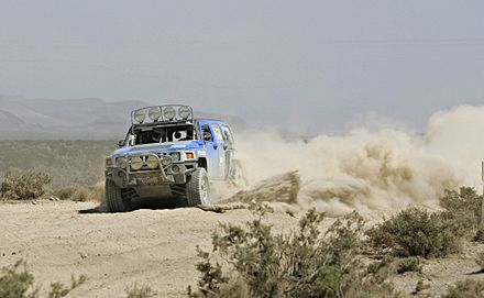 Rod Hall in a Hummer H3 during a Best in the Desert race Stockmini.jpg