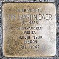 Stolperstein Dr Martin Baer by 2eight 3SC1444.jpg