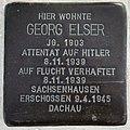 Stolperstein Georg Elser Karlstr 29 89568 Hermaringen 2.jpg