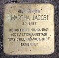 Stolperstein Kantstr 59 (Charl) Martha Jacobi.jpg