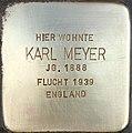 Stolperstein Karl Meyer1.jpg