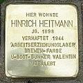 Stolperstein Kirchlinteln - Hinrich Heitmann (1898).jpg