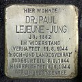 Stolperstein Lietzenseeufer 7 (Charl) Paul Lejeune-Jung.jpg