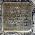 Stolperstein Livländische Str 17 (Wilmd) Eduard Fuerst.jpg