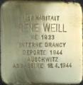 Stolperstein René Weill (Muttersholtz).png